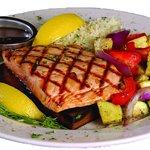 Enjoy one of our favorites - Cedar Plank Salmon