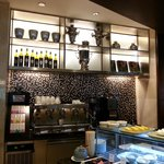 Breakfast Buffet has a great Coffee Machine Counter
