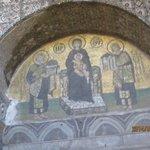 Mosaic in Hagia Sophia