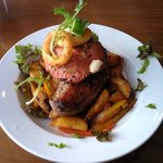 Steak rossini from the specials board