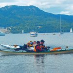 rescue and assisted rescue lessons, Brentwood Bay, BC
