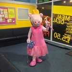 Peppa & other mascots often visit