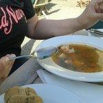 Die Fischsuppe Naja!