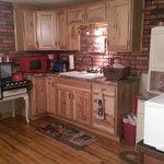 Kitchen at Priscilla's Cottage