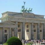 Brandenburg Gate.. our tour ended here.