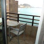 Balcón habitación vista mar