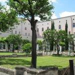 Il Chiostro del Complesso Monumentale di S. Chiara