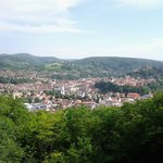 View over Sighisoara City