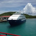 Cayo Blanco - 1 of the Ferries