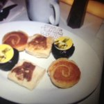 Star wars pastries for starters :)