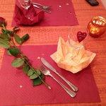 Table de St Valentin