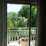 Balcony with garden view!!!!