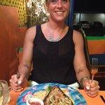 Jill with the tuna