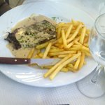 viandes + frites