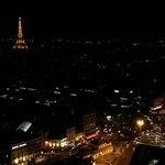 View of Paris during the night