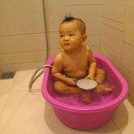 請飯店提供baby浴盆