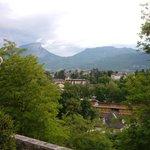 View towards Le Granier