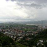 LLandudno West shore towards Snowdonia