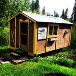 Our little cabin:)
