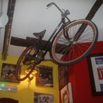 how many restaurants have a bike on the wall