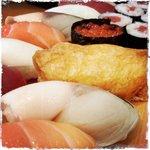 Large sushi set