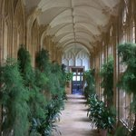Stunning mini-cloister, now a conservatory