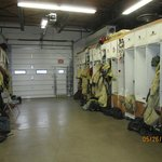 Smokejumper equipment room, ready for action!