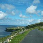 Stunning views and narrow road!