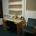 стол и полки