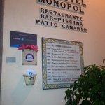 Hotel Monopol, Plaza Charco.