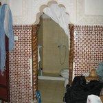 Teilung Badezimmer/Schlafzimmer