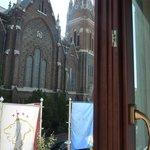 Aussicht auf Kirche