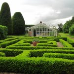 The maze and greenhouse