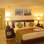 Bed Upon Arrival in Premium Beachfront Suite