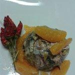 tortino di sardine con arance