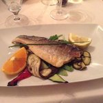 Fresh catch of the day, sea bass - just the way I like it!