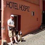 Hotellet er hundevenligt
