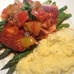 Copper River Salmon with Polenta on the side!!!!