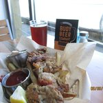 Red Ale and Oyster basket