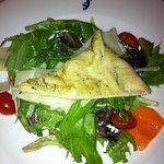 Salada do menu preço-fixo para almoço
