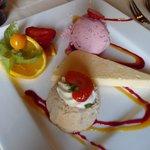 Zur Heideblüte - Dreierlei Dessert