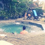 Jacuzzi was lovely!