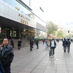 The Hotel fronts right on Nanjing East Road