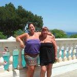 Me & my friend on terrace