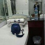 Single room next to receptionist