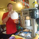 Making my large shave ice part 1
