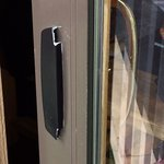 Broken balcony door handle