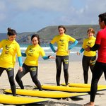A private girls surf group