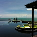 Lobby and Gulf of Thailand