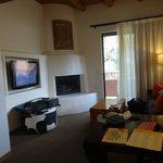 Living space in junior suite 469